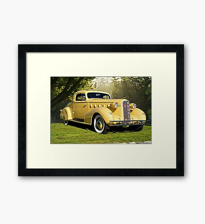 1934 LaSalle Rumble Seat Coupe Framed Print