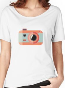 Retro Camera Women's Relaxed Fit T-Shirt