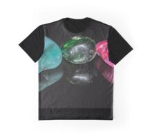 Reflections - Coloured Stones Graphic T-Shirt