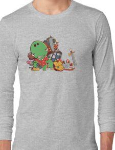 Cool and Nerd Dinosaur  Long Sleeve T-Shirt