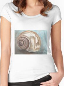 The shell Women's Fitted Scoop T-Shirt