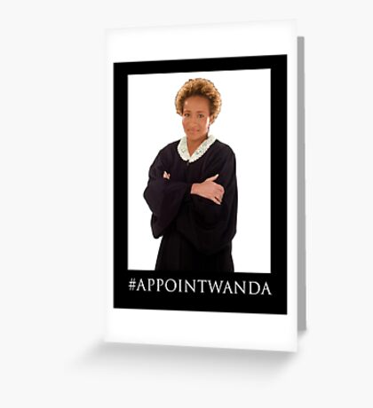 Wanda Sykes for Supreme Court Greeting Card