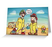 Science Peach! Greeting Card