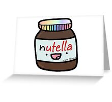 NUTELLA Greeting Card