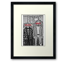 The Chemist and the Entrepreneur - Breaking Bad Framed Print