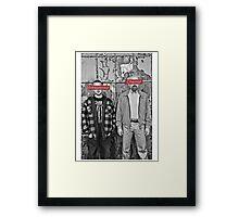 The Chemist and the Entrepreneur - Breaking Bad Framed Print