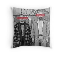 The Chemist and the Entrepreneur - Breaking Bad Throw Pillow