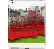 Tower Poppies, London iPad Case/Skin