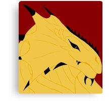 Magnus, Dragonborn Pirate Canvas Print