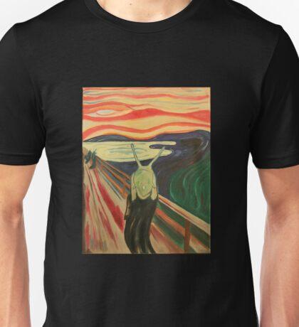 the slug scream  Unisex T-Shirt