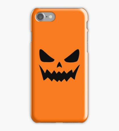 Spooky Jack-O'-Lantern - Halloween iPhone Case/Skin