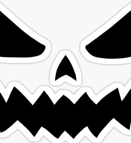 Spooky Jack-O'-Lantern - Halloween Sticker