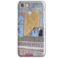 Lawyers  in Courtroom. iPhone Case/Skin