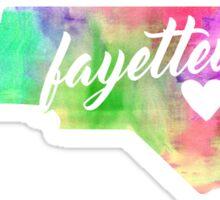 Fayetteville Sticker