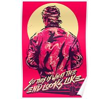 hotline miami jacket Poster
