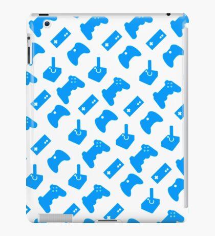 Aqua Gamer iPad Case/Skin