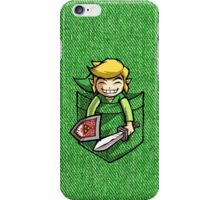 Happy Pocket Link Legend of Zelda T-shirt iPhone Case/Skin