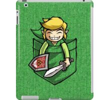 Happy Pocket Link Legend of Zelda T-shirt iPad Case/Skin