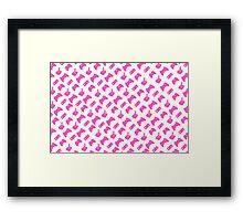 Pink Gamer Framed Print