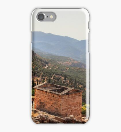 View from Delphi iPhone Case/Skin