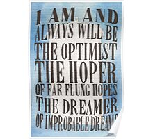 The Dreamer of Improbable Dreams Poster