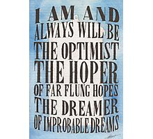 The Dreamer of Improbable Dreams Photographic Print