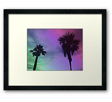 High Palms Framed Print