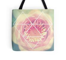 Water Lilly Romance Tote Bag