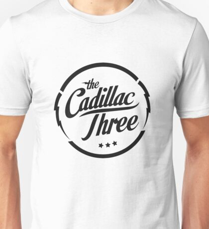 The Cadillac Three Logo Unisex T-Shirt