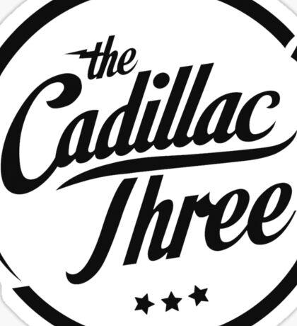 The Cadillac Three Logo Sticker