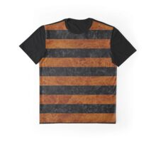 STR2 BK MARBLE BURL Graphic T-Shirt