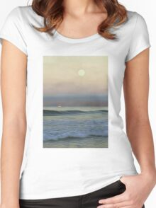 Pale Sunset Women's Fitted Scoop T-Shirt