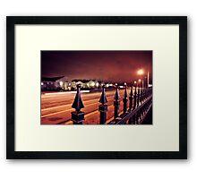 Houston Levee Framed Print