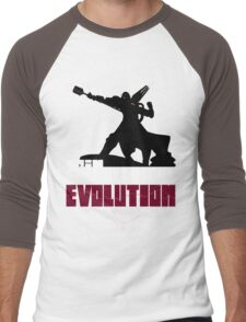 [V2] - Join the glorious evolution! Men's Baseball ¾ T-Shirt