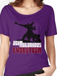 [V2] - Join the glorious evolution! Women's Relaxed Fit T-Shirt