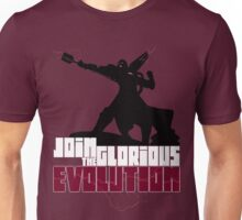 [V2] - Join the glorious evolution! Unisex T-Shirt