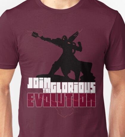 [V2] - Join the glorious evolution! Unisex T-Shirt