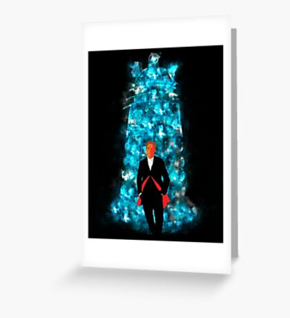 Into Darkness Greeting Card
