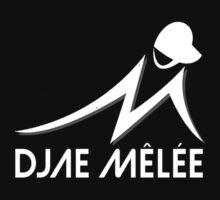"""""""Anniversary White"""" Melee Logo  by djaemelee"""