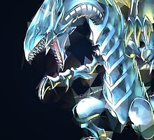 Blue Eyes White Dragon by TomsTops