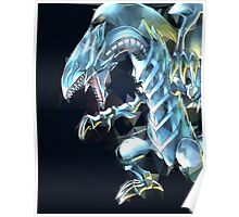 Blue Eyes White Dragon Poster