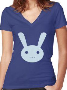 Jaune's Bun-Bun Women's Fitted V-Neck T-Shirt