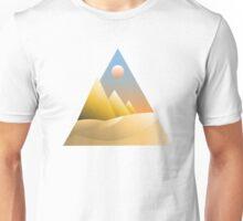 Triangles for days • Desert Unisex T-Shirt