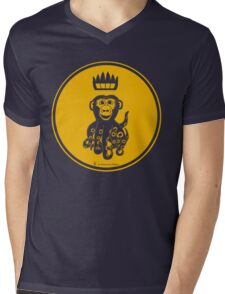 Octochimp - single colour Mens V-Neck T-Shirt