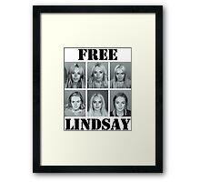 FREE LINDSAY  Framed Print