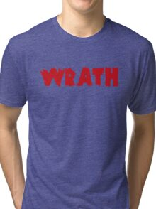 Wrath Zero Hour  Tri-blend T-Shirt