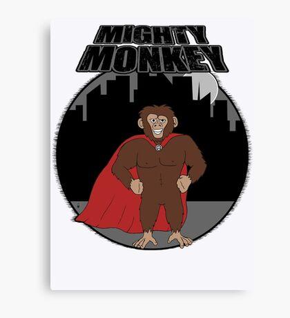 Mighty Monkey Canvas Print