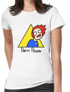 Party Poison Womens Fitted T-Shirt