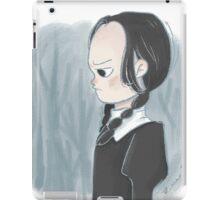 Wednesday Addam iPad Case/Skin