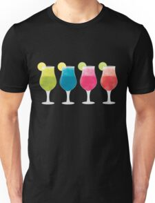 Colourful Fruit Daiquiris Unisex T-Shirt